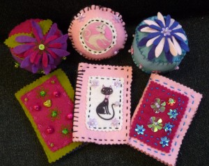 Pin Cushions  & Needle Cases 2