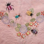 Stumpwork insects