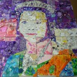 Purple Queen Collage Yr9