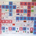 Olympic Scrabble Board Yr6